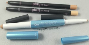 Pictured above: Two Etude House Play101 Pencils, and Color World's Double Cover Concealer.