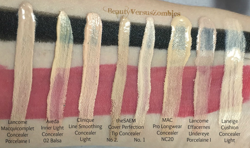 Choosing And Using Concealer Beauty Versus Zombies