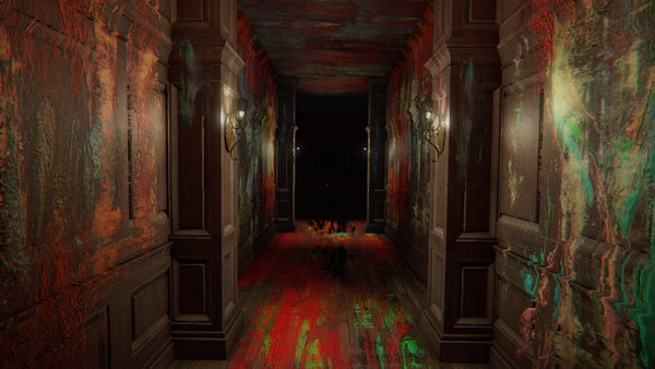 Layers of Fear Paint Hallway