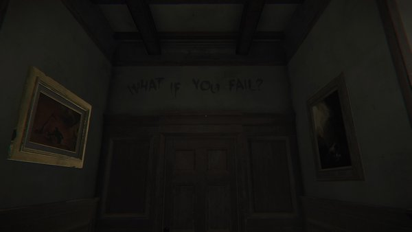 Layers of Fear Fail Message