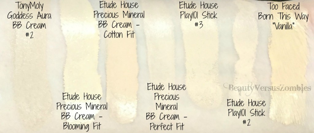 Stash Shop Foundation Swatches 3