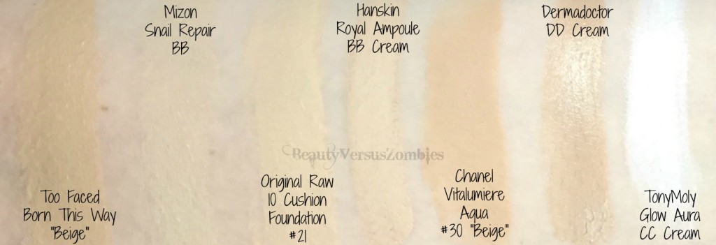 Stash Shop Foundation Swatches 4